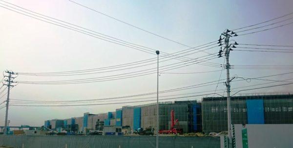 イオンモール利府新棟工事状況|2020年2月②