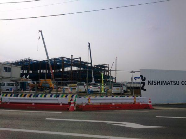イオンモール利府新棟工事状況|2020年2月①