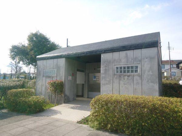 紫山公園|トイレ