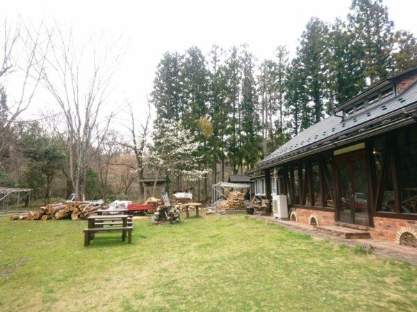 山の喫茶店Decoy(デコイ)|中庭